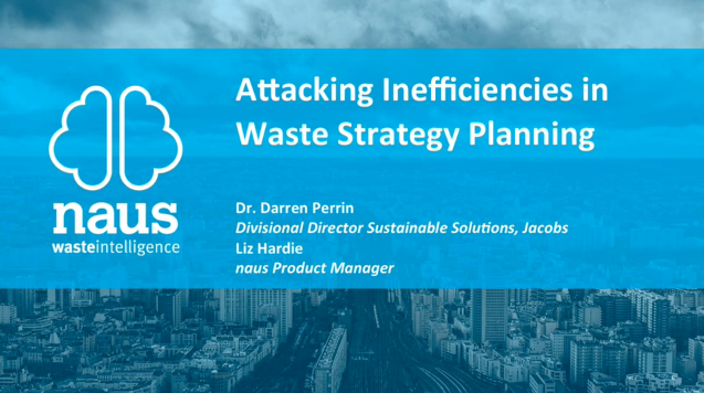 Webinar Announcement: Attacking the Inefficiencies in the Waste Industry