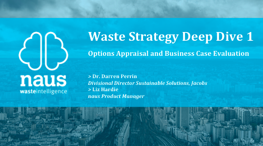 Webinar Announcement: Options Appraisal and Business Case Evaluation